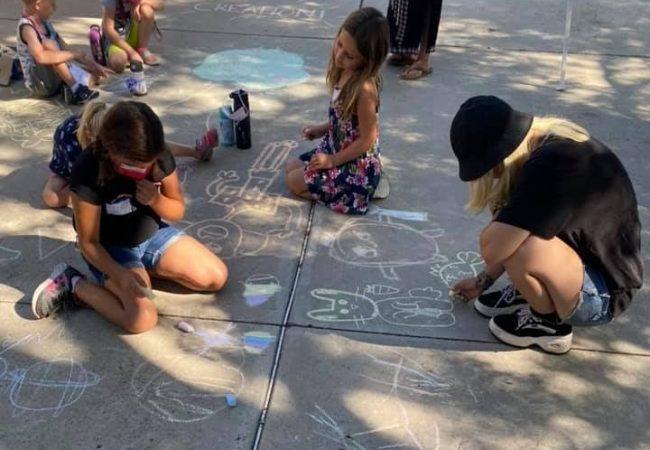 VBS Chalk Art
